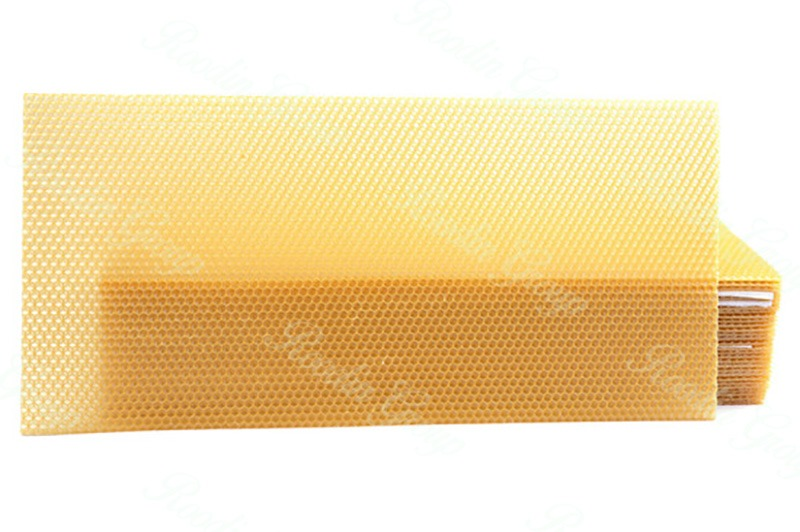 organic honeycomb beeswax sheets