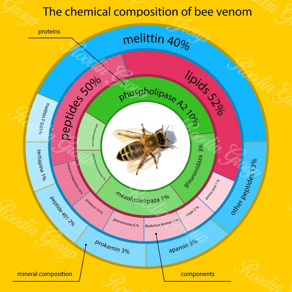 honey bee venom protein